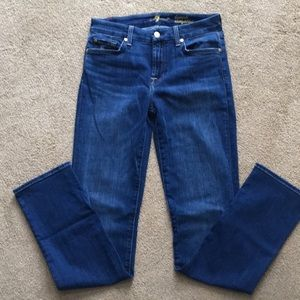 New without tags 7 for all mankind blue jeans
